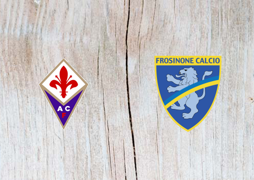 Fiorentina vs Frosinone  - Highlights 7 April 2019