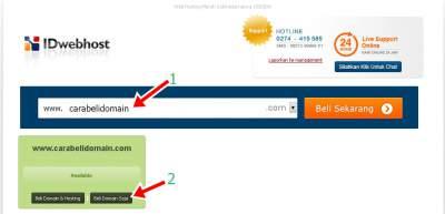 Cara Membeli Domain .Com Murah dan Mudah - CARAMADIA
