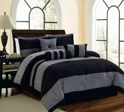 Total Fab Charcoal Grey Comforter Amp Bedding Sets