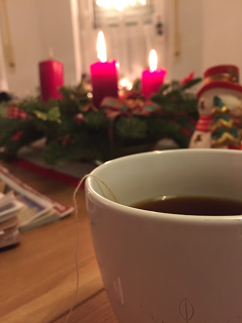 tee am zweiten advent