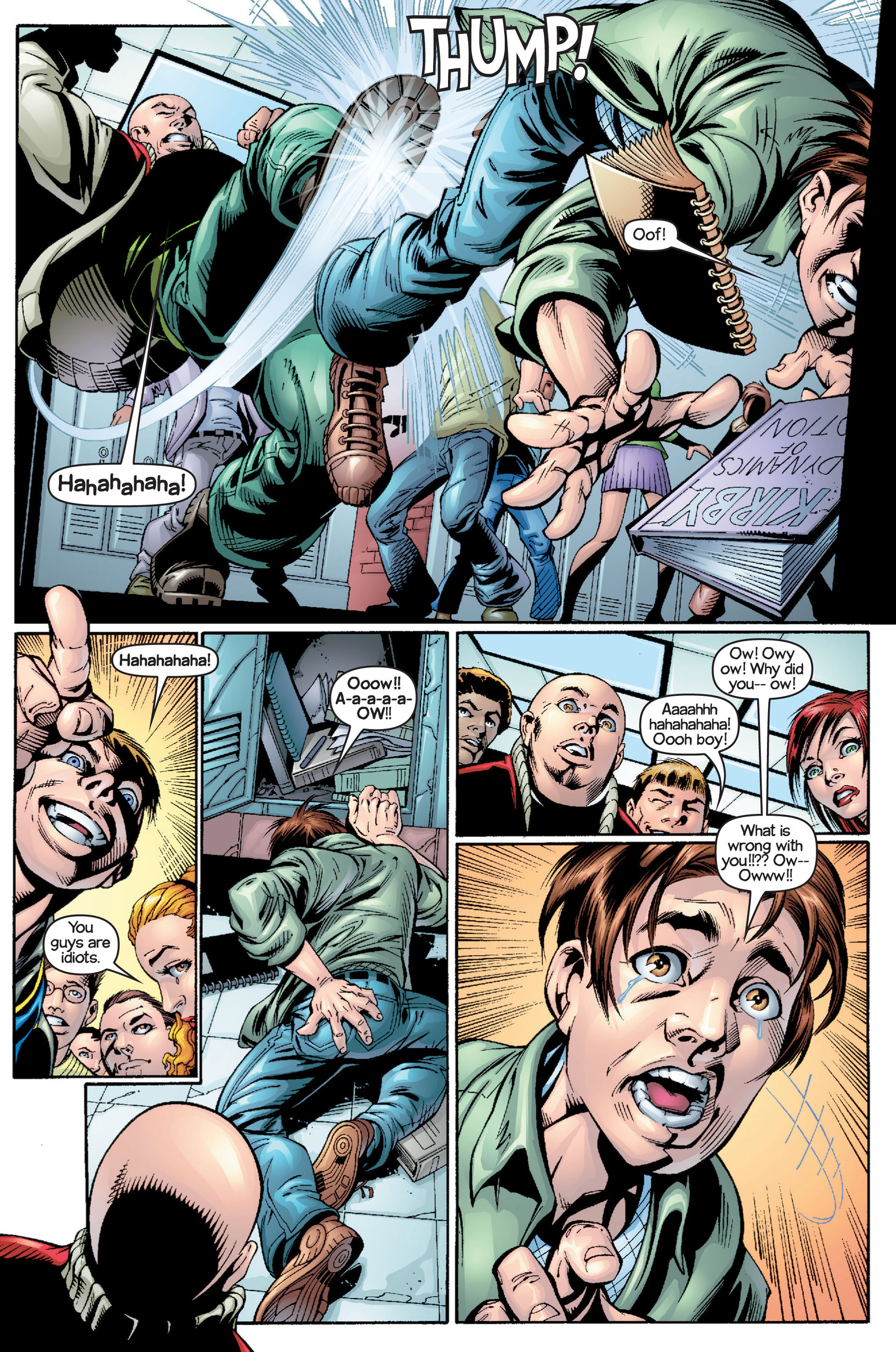 Read online Ultimate Spider-Man (2000) comic -  Issue #15 - 10