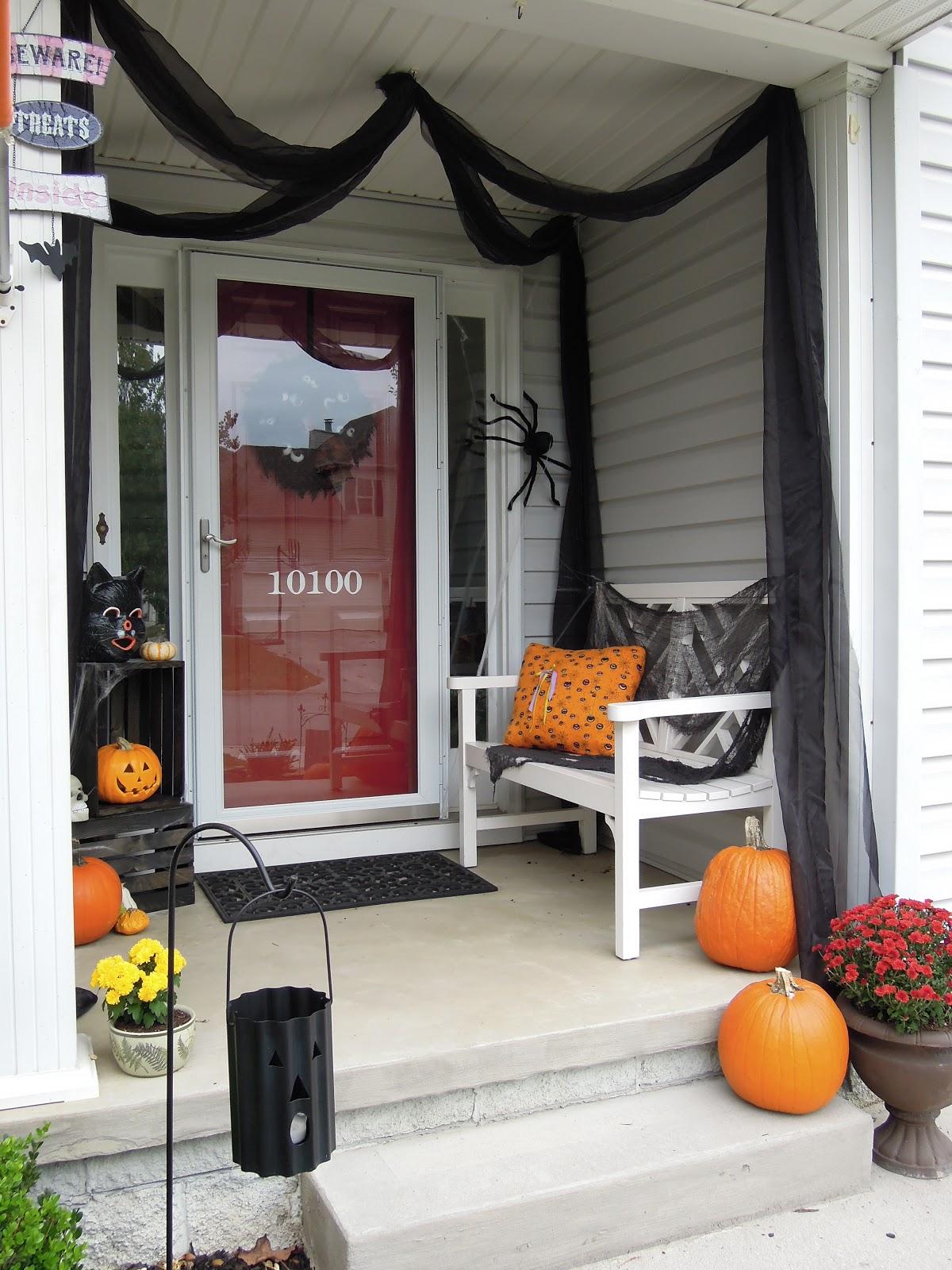Design Halloween Front Porch Ideas halloween porch decorating ideas