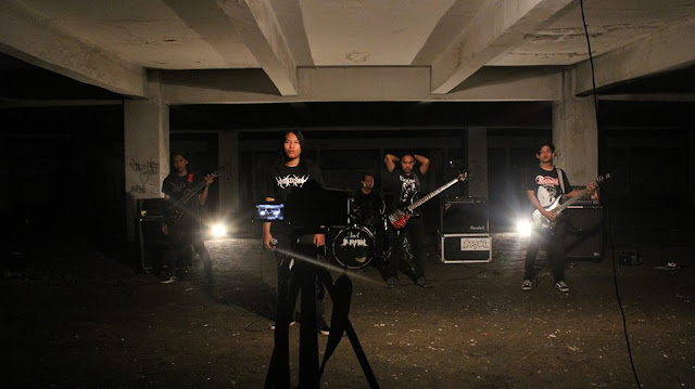Inrain, Death Metal Band from Bandung, Indonesia, Inrain Death Metal Band from Bandung Indonesia