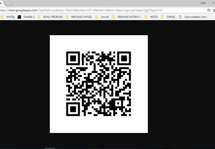 Barcode / QR Code Undangan Pernikahan