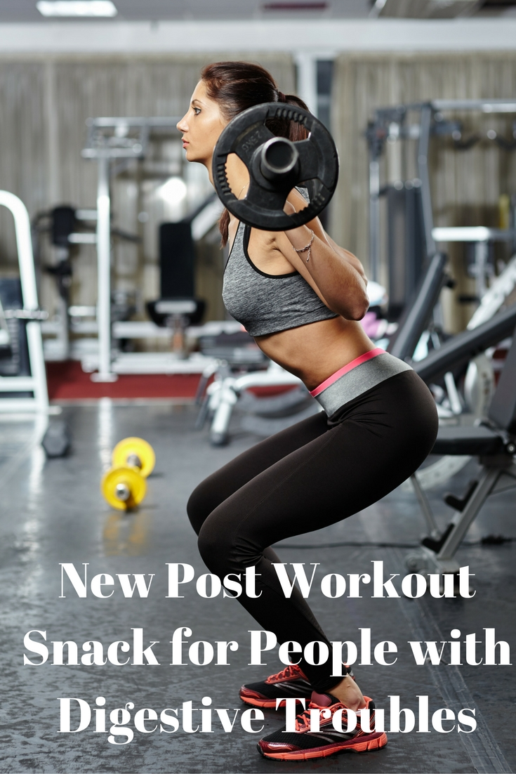 New Post Workout Snack for People with Digestive Troubles