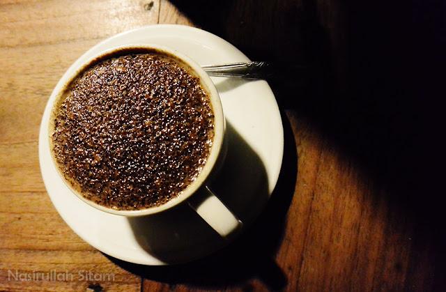 Menikmati kopi ala Angkringan Kopdar Jogja