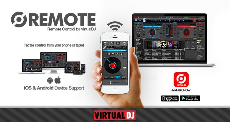 VirtualDJ Remote 8 0 0 Apk free | Zone Cracked - Virtual DJ skins