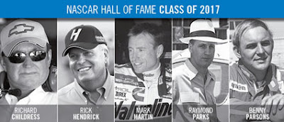 #NASCAR HOF - Class of 2017 Inductees