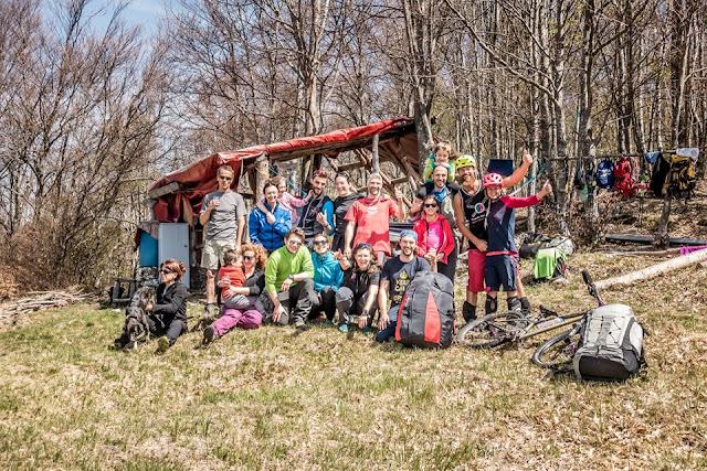 MTB Tour Julische Alpen Monte Jama (1.165m) bei Chiusaforte