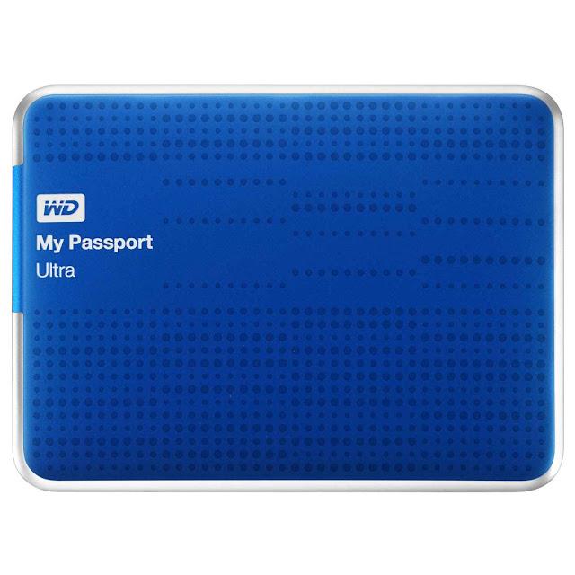 Old Model WD My Passport Ultra 500GB External Hard Drive