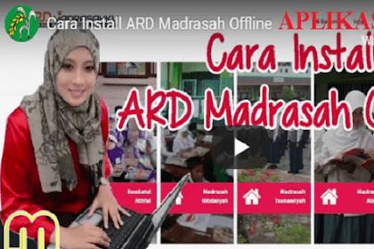 Download ARD Madrasah Offline Versi Terbaru Dilengkapi Cara Instal