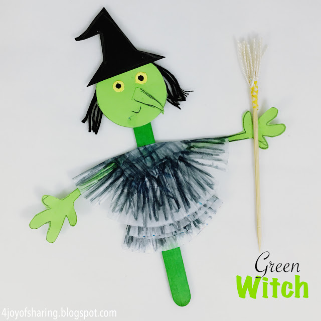 Halloween craft, kids craft, puppet craft, holiday craft, preschool craft, fun craft, kids activities, halloween fun activity, toddler fun, crafts for kids, art and craft for kids