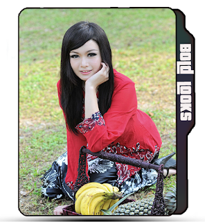 Preview of Asian girl, model, park, picnic, cute girl smile, photoshoot