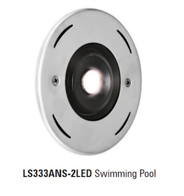 Lumascape ls333ans 2led swimming pool luminaire lampu kolam underwater lamp for Underwater luminaire for swimming pool