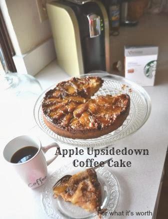 skillet apple upside down cake recipe