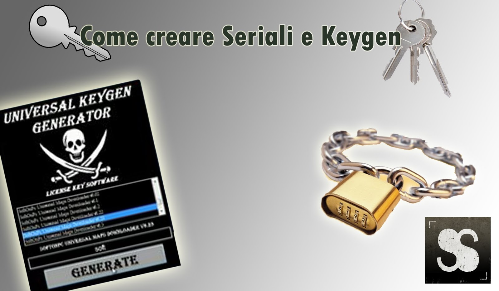 serial key generator for all software