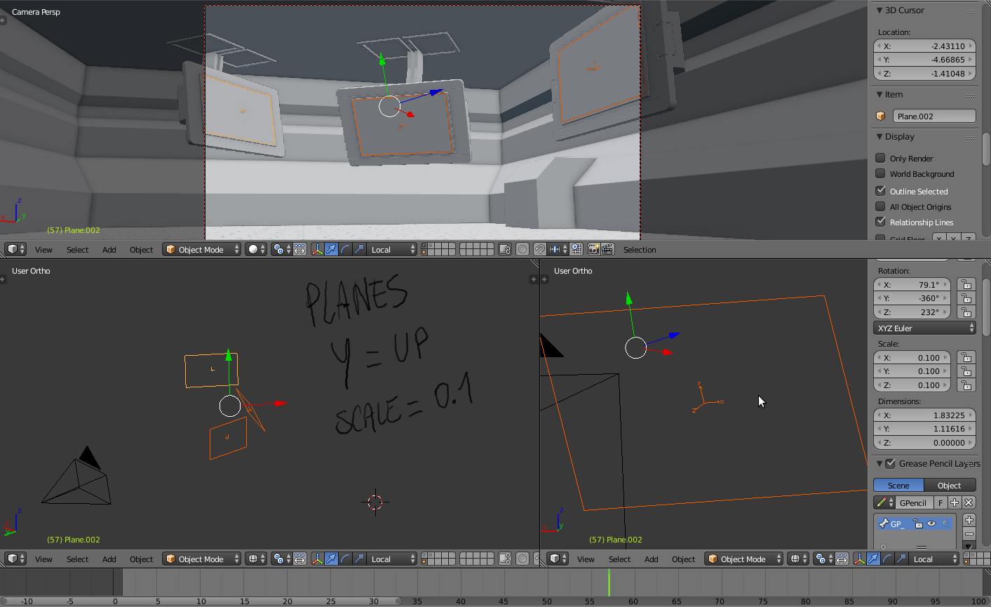 loran: Blender to After Effects