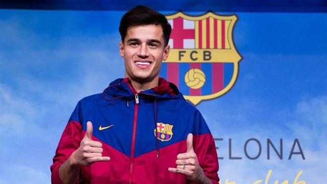 Coutinho Muncul di Camp Nou untuk Kali Pertama