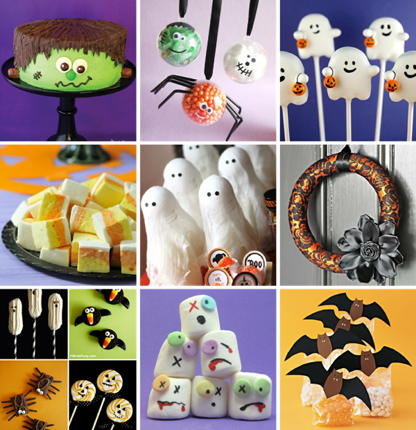 Last Minute Halloween Crafts and Party Ideas - via BirdsParty.com