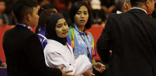 Tolak Lepas Hijab, Atlet Judo Indonesia Didiskualifikasi
