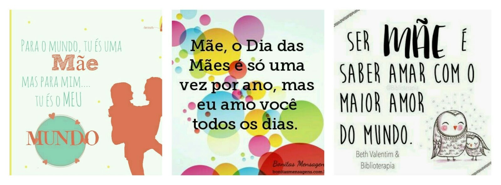 Artesanía Bijuterias Por Dalila Gomes 12 Frases Para O Dia Das Mães