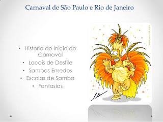 Carnaval de São Paulo e Rio de Janeiro