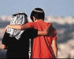 Arab and Jewish Boy in Peaceful friendship