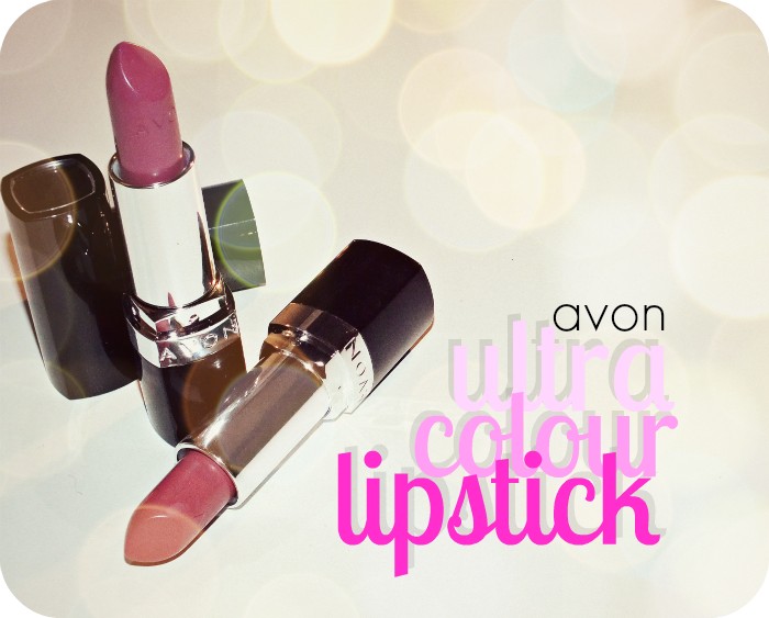Avon Ultra Colour Lipstick Toasted Rose And Very Violet I Know