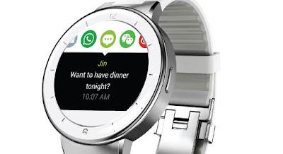 smartwatch blanco para mujer