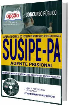 Apostila Concurso SUSIPE-PA 2018 Agente Prisional