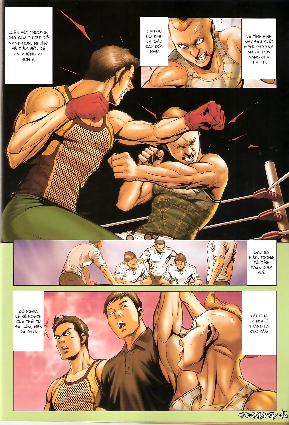 Người Trong Giang Hồ - Chapter 1365: Thái Tử trùng hiện - Pic 16