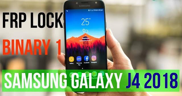 حذف حساب جوجل اكونت لجهاز Galaxy J4 2018 SM-J400 اصدار 8.0