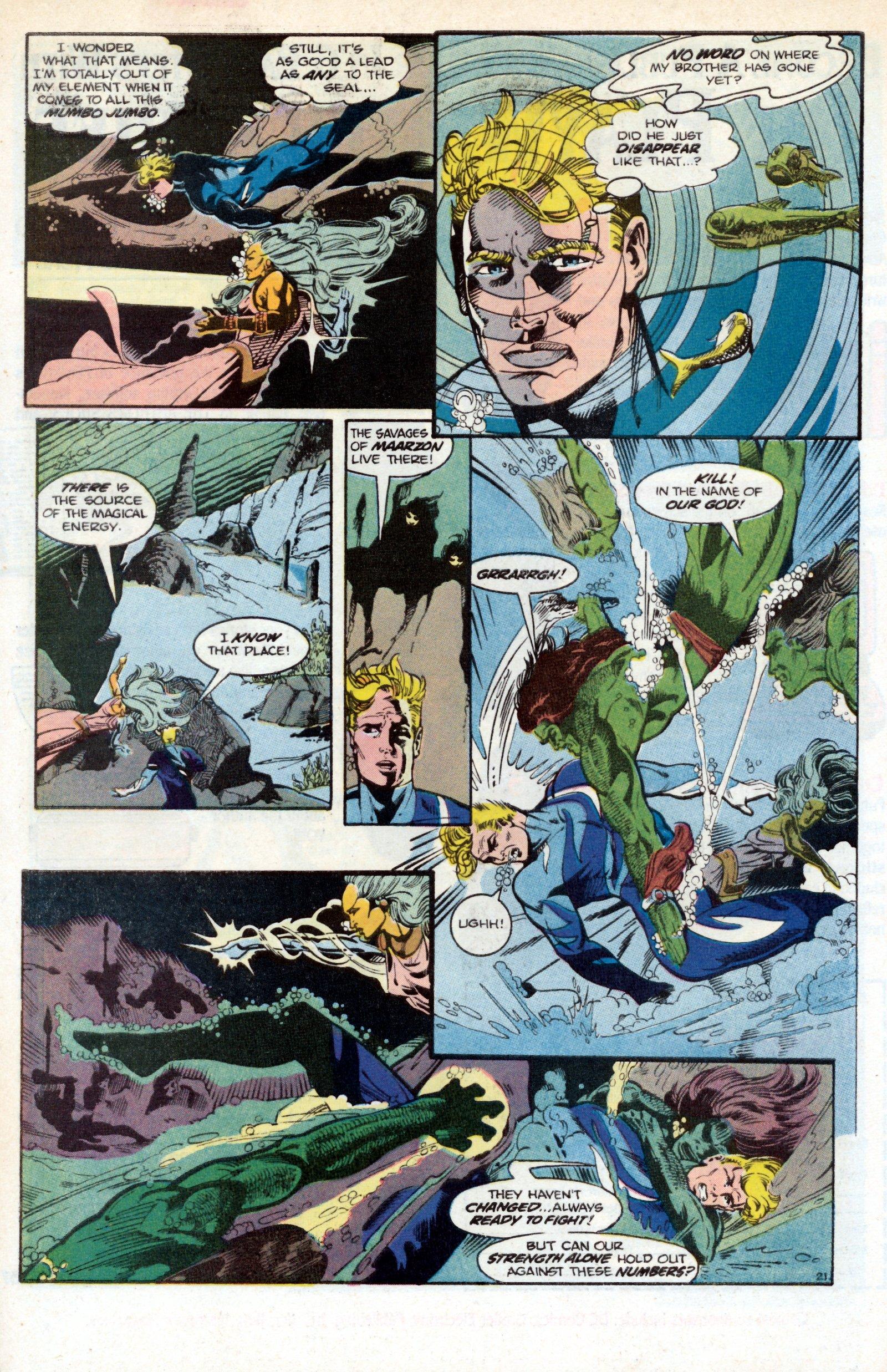 Read online Aquaman (1986) comic -  Issue #2 - 30