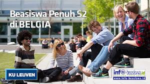 Beasiswa Penuh S2 di KU Leuven Belgia