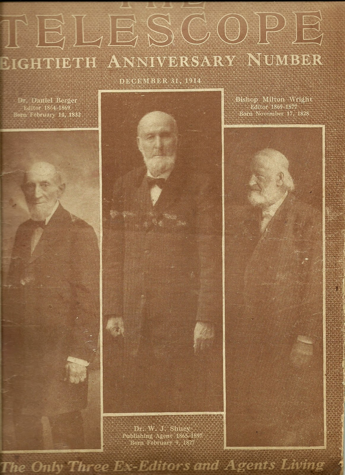 Bishop Milton Wright, father of Wilbur and Orville Wright