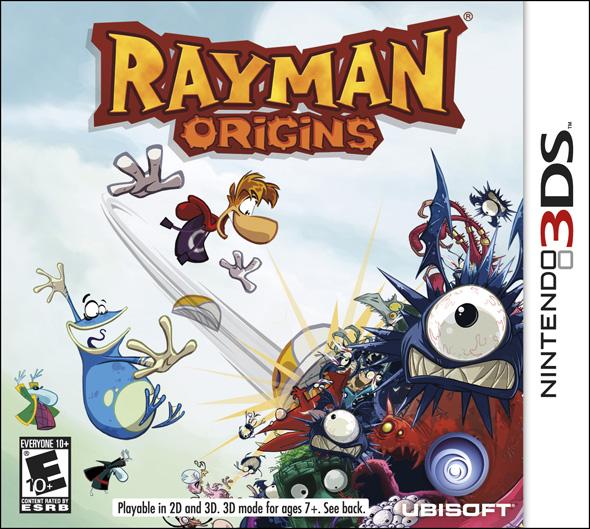 Rayman Origins (Decrypted 3DS Rom)