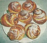 Необходимые продукты и способ приготовления булочек на сыворотке