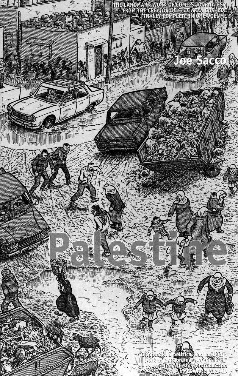 Read page 25 - chapter 2 of Joe Sacco - Palestine online