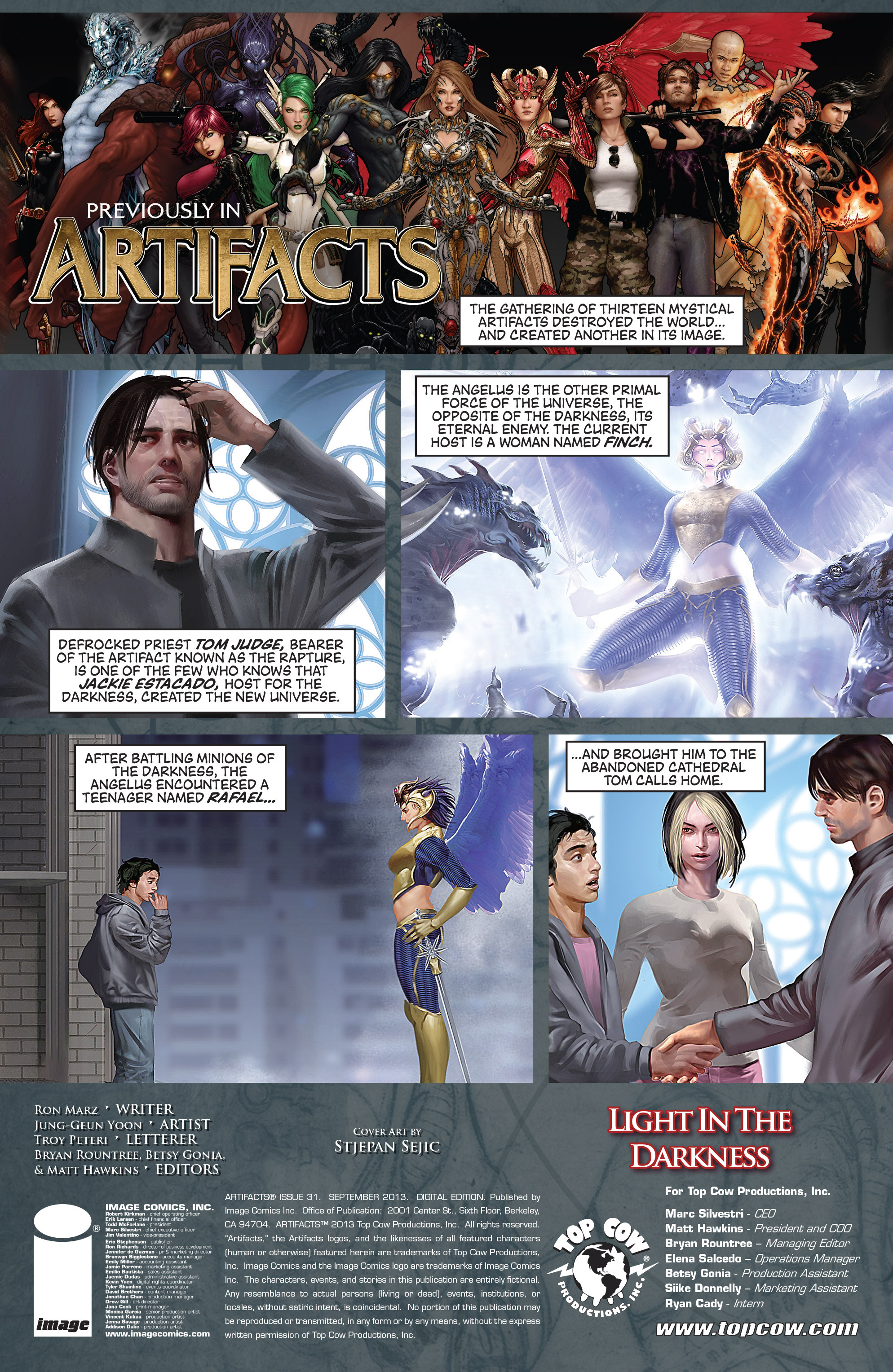 Read online Artifacts comic -  Issue #31 - 2