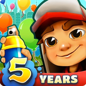 Game Terbaru Subway Surfers Mod Apk v1.71.1 Unlimited Coins / Key