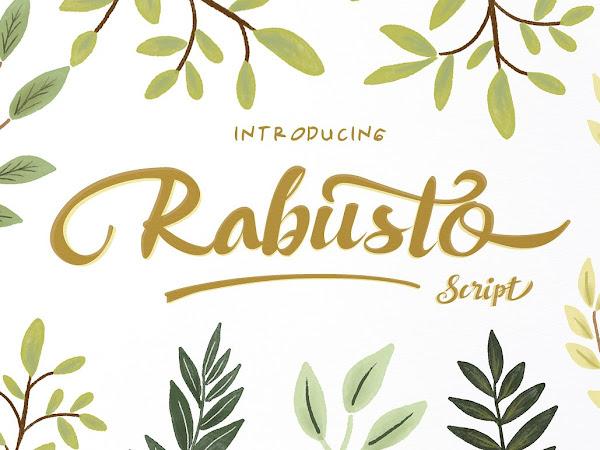 Download Rabusto Script Free