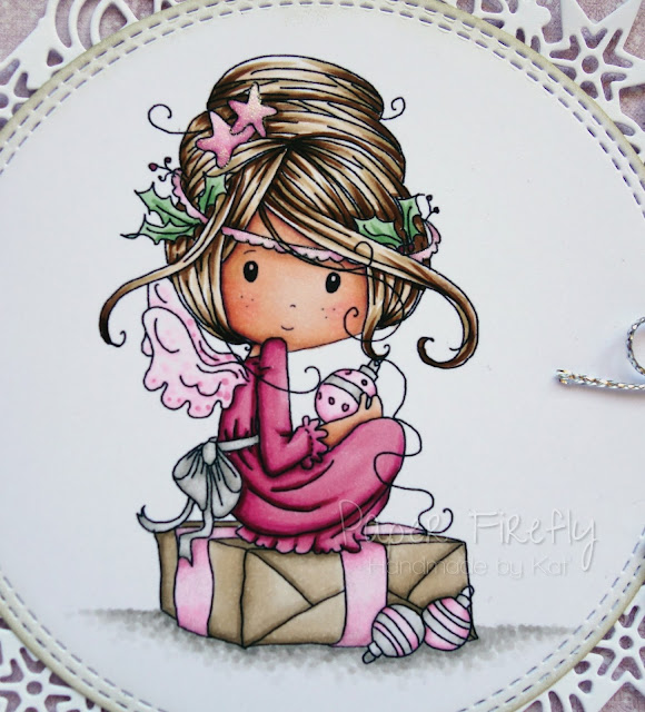 Fairy Christmas card (image from Polkadoodles)