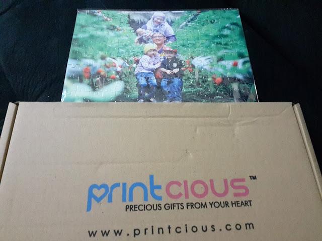 Tempah Gambar Puzzle Bercuti Kami Sekeluarga di Printcious