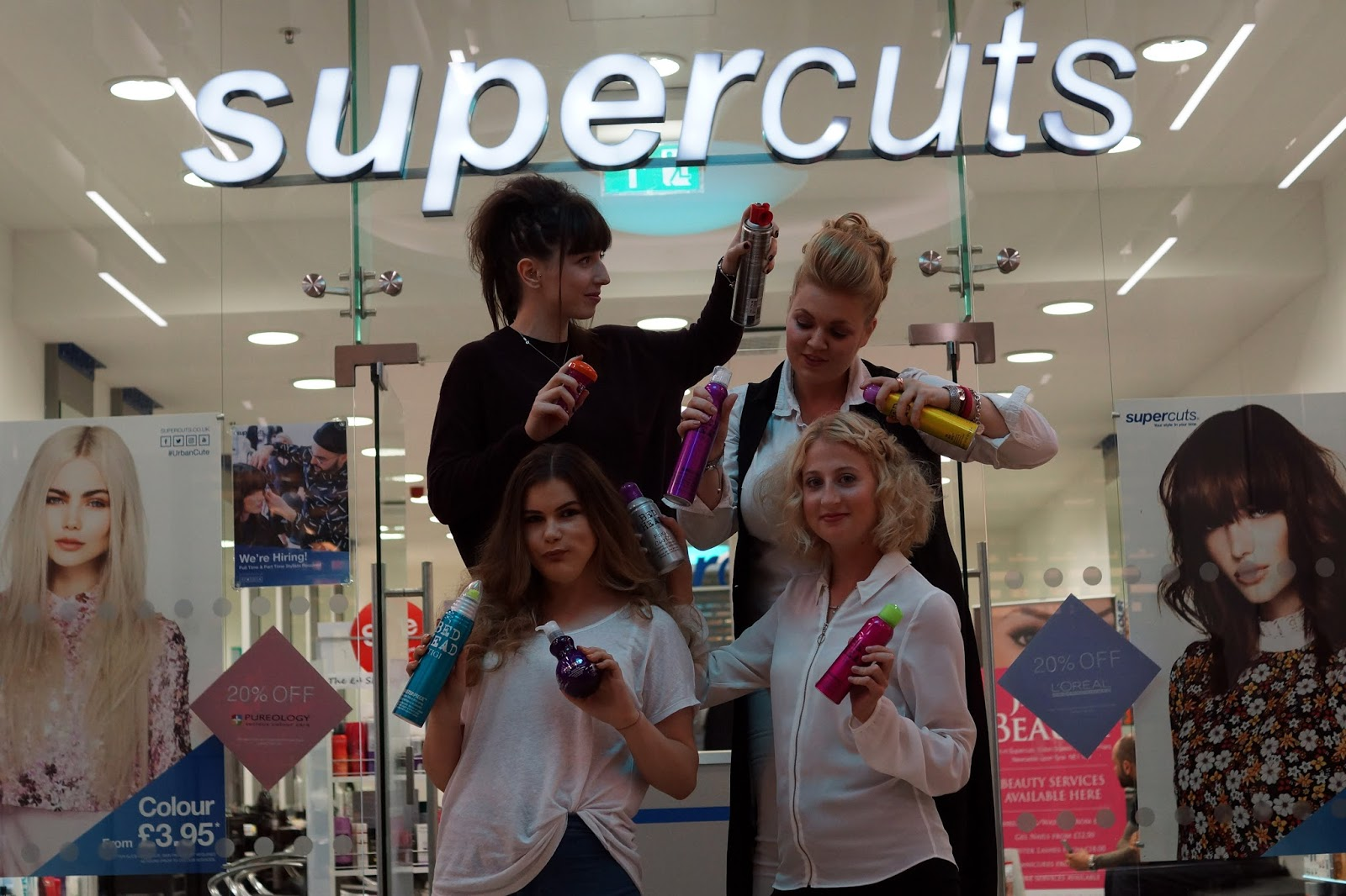 Hello Freckles Supercuts #SquadGoals Hairstyle nebloggers