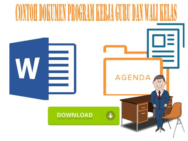 Download Contoh Dokumen Program Kerja Guru Dan Wali Kelas Versi Terbaru 2017
