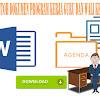Contoh Dokumen Program Kerja Guru Dan Wali Kelas