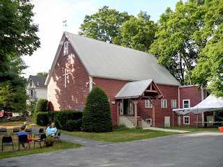 Barn building at Trinity Congregational Church, Bolton