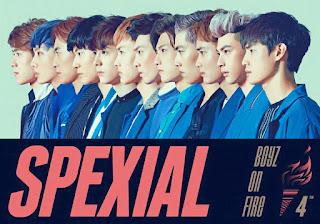 SpeXial - Boyz On Fire Lyric with Pinyin