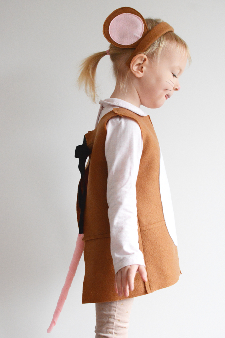 KIDS | World Book Day : brown mouse costume  - Germanpascual.Com