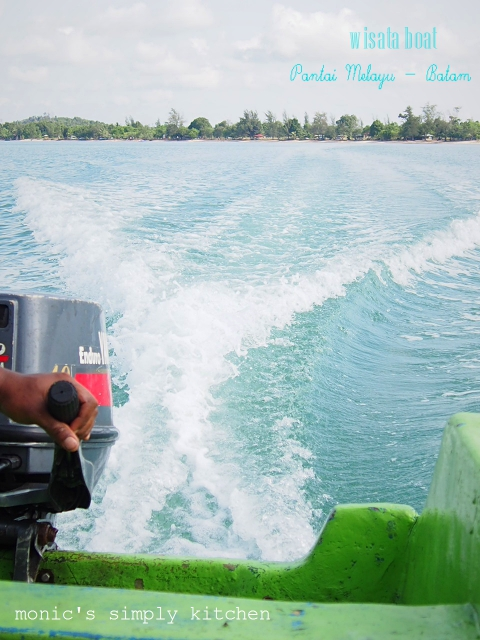 wisata boat pantai melayu